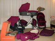 STOKKE XPLORY V3 / V4 BABY PRAM (CARRY COT + CAR SEAT)