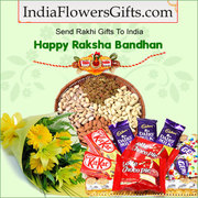 Send a lot of happiness on this Raksha Bandhan