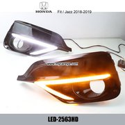 Honda Jazz Fit DRL LED Daytime Running Light led driving lights