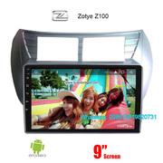 Zotye Z100 Car audio radio update android GPS navigation camera